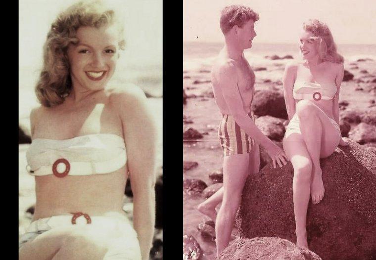 Young Marilyn MONROE dans l'oeil de Laszlo WILLINGER en 1947. (part 2).