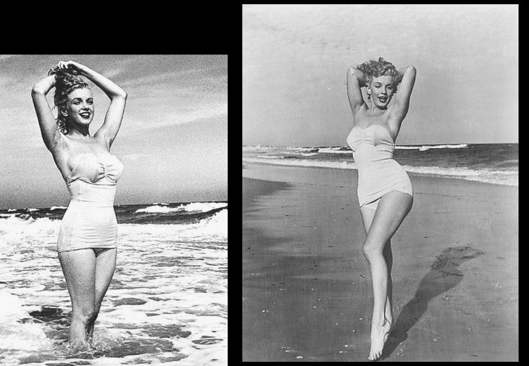 Tobey-Beach, Long-Island, été 1949 by André De DIENES (part 2).