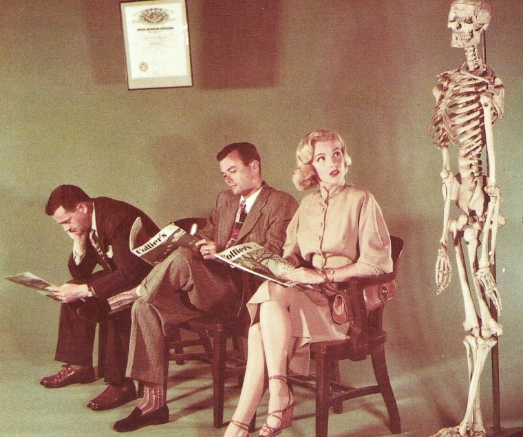 """On commence l'année 1950 avec cette publicité pour """"Collier's""""."""