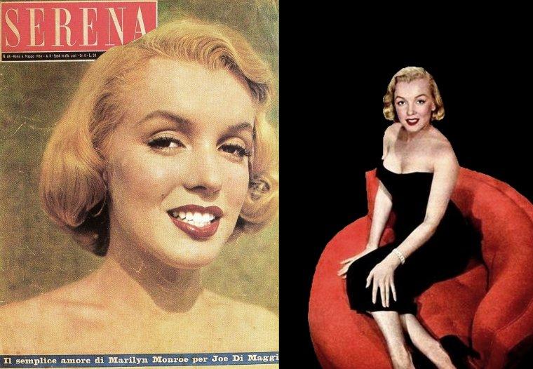 """1950, c'est sous l'oeil de Bob BEERMAN que Marilyn pose chez Johnny HYDE, dans la robe qu'elle portera dans le film """"The asphalt jungle"""" (à suivre)."""