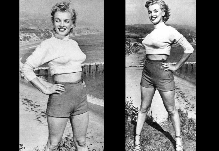 1951 : Marilyn photographiée par J.R. EYERMAN, sur les hauteurs de Hollywood (part 2).