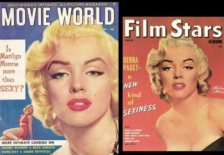 1951, pour les inconditionnels du photographe Anthony BEAUCHAMP, ces covers et portraits studios de Marilyn.