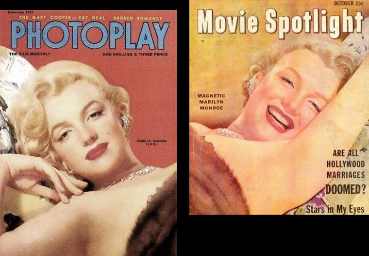 1951, PORTRAITS STUDIO par Ernest BACHRACH que l'on retrouvera tout au long du blog, car il a pris de nombreuses photos de Marilyn parmi les plus belles ; Il était spécialisé dans le portrait et dirigea le département photo à la RKO de1929 jusqu'à sa retraite à la fin des années 50. Il prit de nombreuses photos de stars telles que Gloria SWANSON, Fred ASTAIRE, Katharine HEPBURN, Ava GARDNER, Ingrid BERGMAN ou encore Cary GRANT.