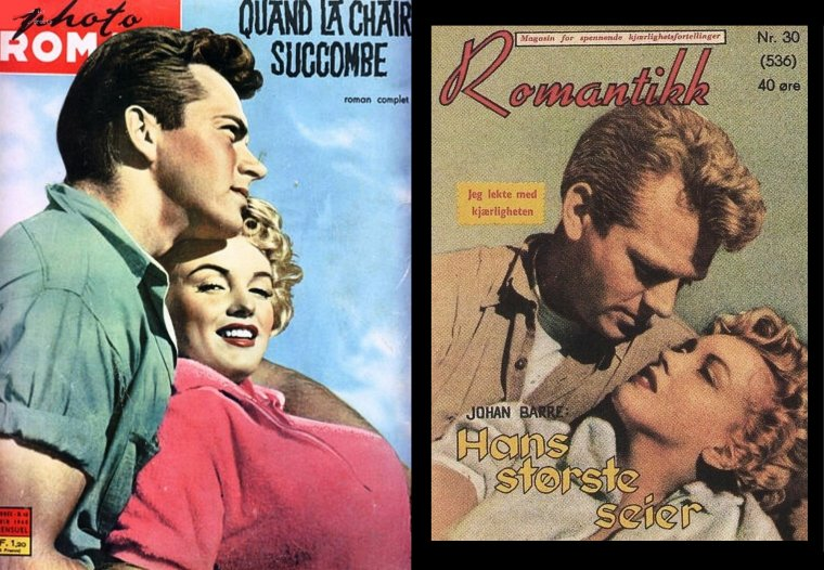 """1952 / AFFICHES et COVERS du film """"Clash by night"""" (Le démon s'éveille la nuit)."""