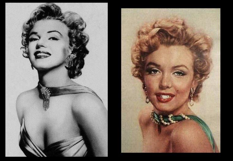 1952, Marilyn vue par Bruno BERNARD.