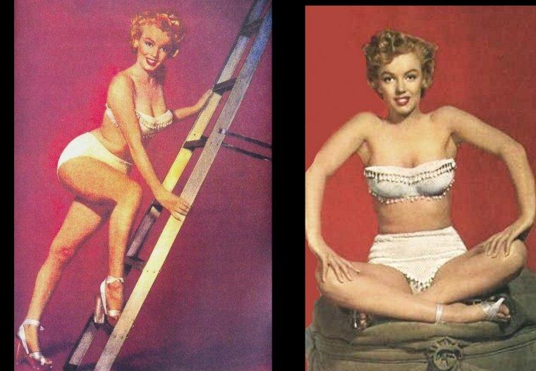 1952, sessions photos de Marilyn par Earl THEISEN (part 2) et Gene KORNMAN.
