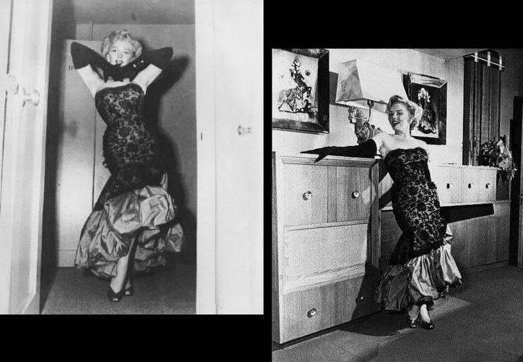 """18 Juillet 1952, Marilyn se rend à la Première du film """"Don't bother to knock"""" où nombre de Stars se presseront, telles David WAYNE ou Richard WIDMARK (part 3)."""