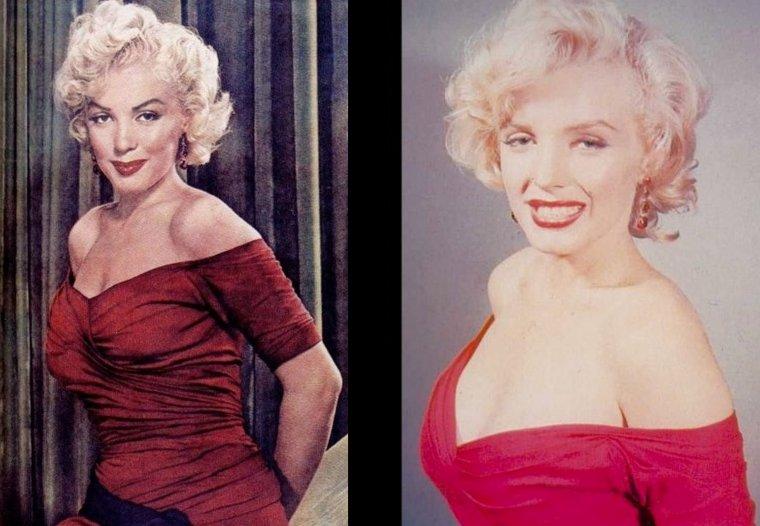 """1952 ATLANTIC-CITY : Le lendemain, nouvelle parade de promotion pour Marilyn, en décapotable pour promouvoir son nouveau film """"Monkey business"""", puis dans la journée visite d'un orphelinat pour finir en soirée, à la Première officielle du film."""