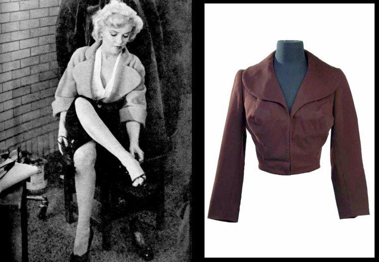 """1952-53 """"Niagara"""" d'Henry HATHAWAY / Anecdote / Le rôle de Polly tenu par Jean PETERS devait revenir à Anne BAXTER qui finalement se désista. Le scénario fut alors remanié pour mettre l'accent sur le personnage de Marilyn MONROE."""