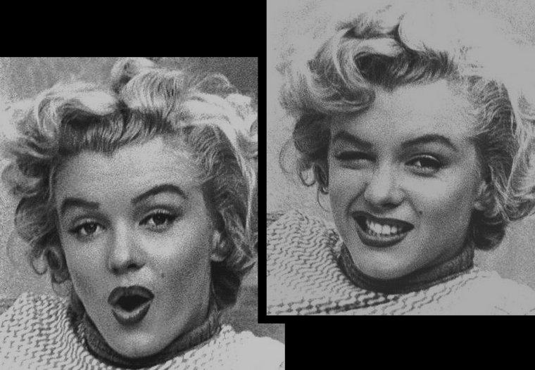 """1953, Marilyn pose pour André De DIENES sur une des terrasses du """"Bel-Air Hôtel"""" (part 3)."""