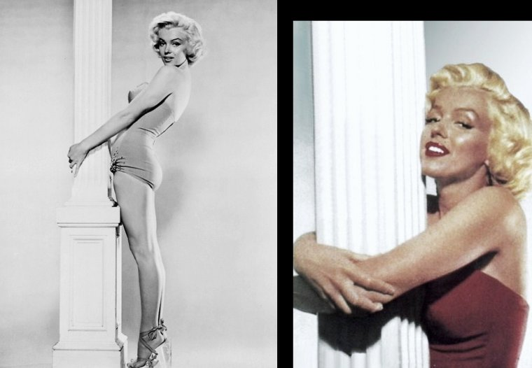 "1953, photos promotionnelles pour le film ""How to marry a millionaire"" de Jean NEGULESCO / photos de Bert REISFELD (part 2)."