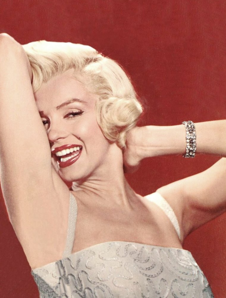 "1953 / Photos publicitaires de Marilyn signées John FLOREA,  pour le film ""How to marry a millionaire"" de Jean NEGULESCO."