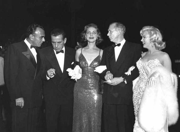 "1953 PREMIERE du film ""How to marry a millionaire"" (Comment épouser un millionnaire) de Jean NEGULESCO (part 3)."