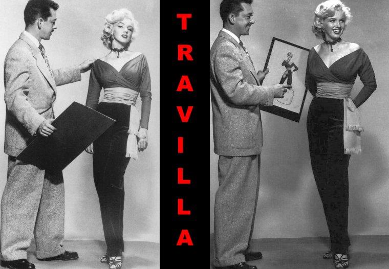 """1953, ESSAIS costumes et coiffures pour le film """"Gentlemen prefer blondes"""" de Howard HAWKS (part 5)."""