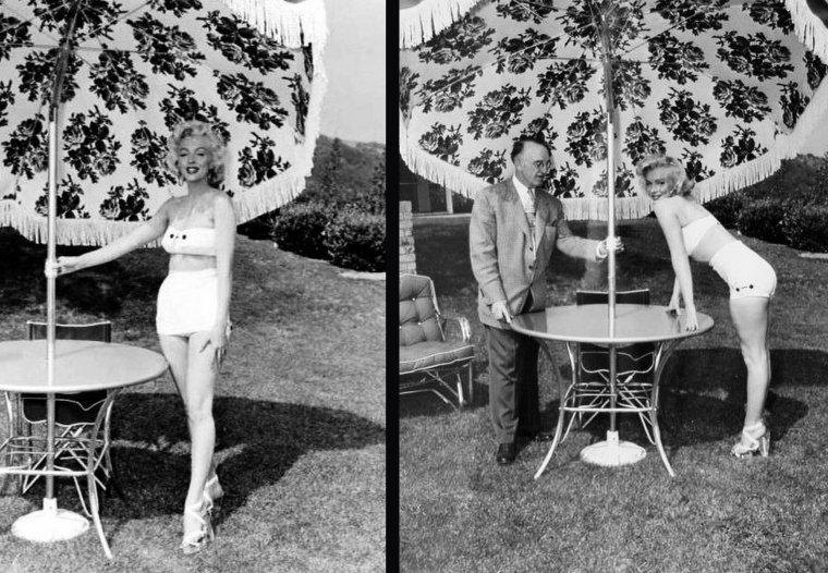 1953, Marilyn photographiée par Mischa PELZ.