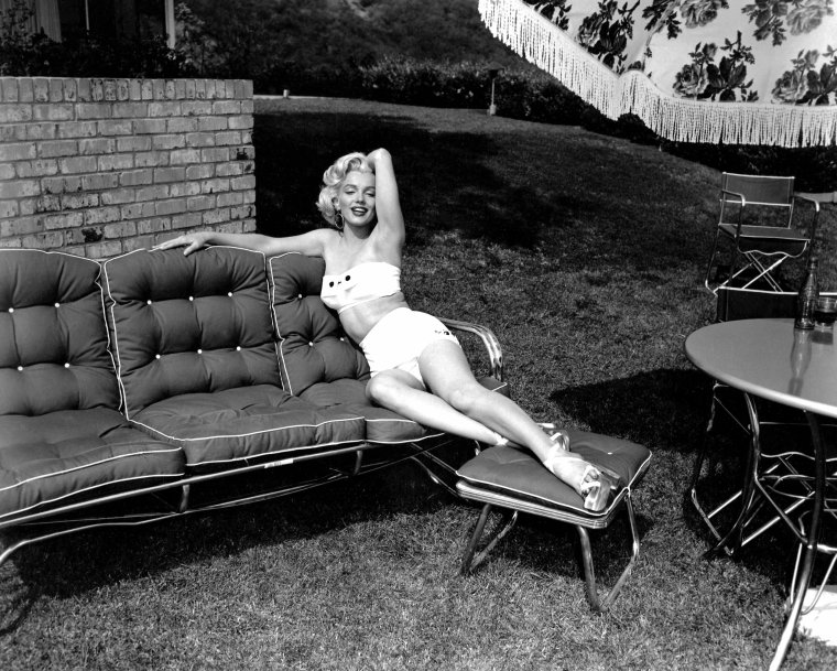 1953, Marilyn photographiée par Mischa PELZ (part 2).
