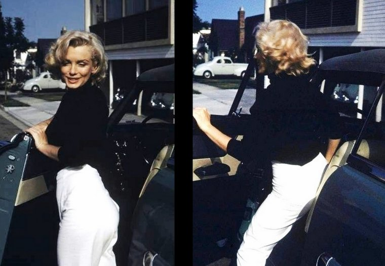 1953 Marilyn by Alfred EISENSTAEDT / DOHENY DRIVE (final with Alfred).