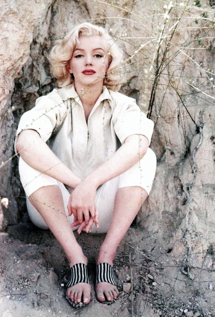 1953  marilyn by milton greene  session  u0026quot rock u0026quot     marilyn