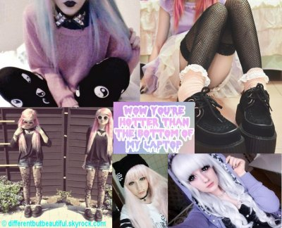 Le style Pastel Goth