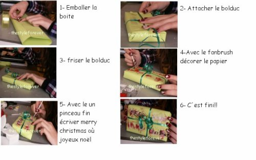 •Déco• Faux paquet cadeau