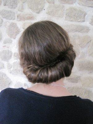 •Coiffure• Le headband: chignon romantique