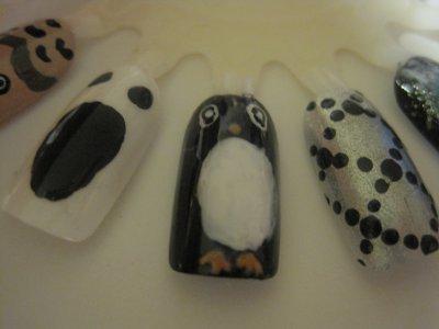 •Nail art• Essais sur capsules et roues