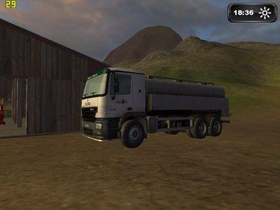 le camion du laitier