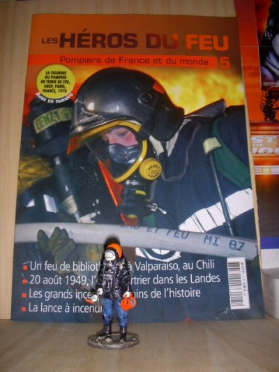 les heros du feu n5 la figurine + son fasicule