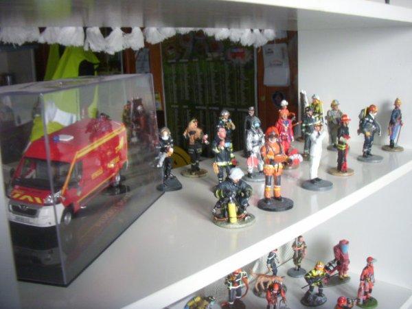 mon etagere de pompiers