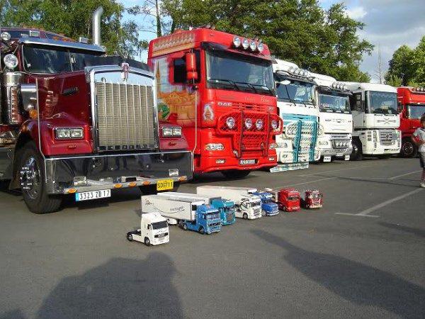 21 et 22 avril rassemblement camion a saint martin d'ary avec défilé