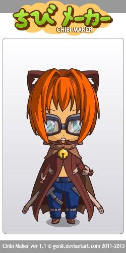 Présentation du personnage de Caty Red