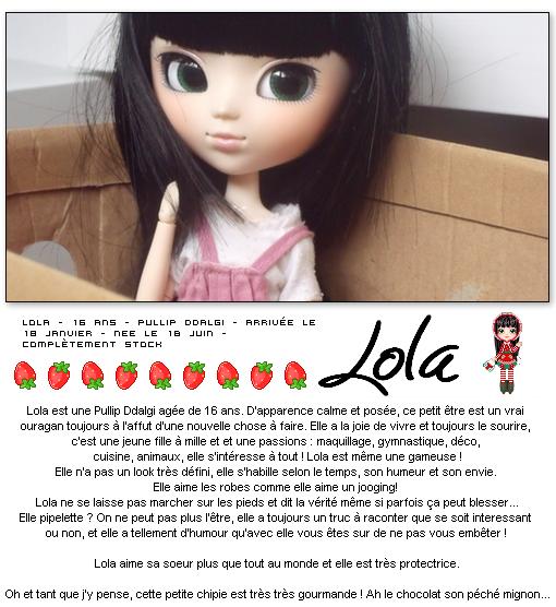 Ma deuxième pullip :: Lola