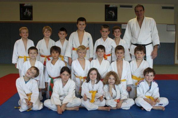 Stage Judo Poussins et Mini poussins Octobre 2013