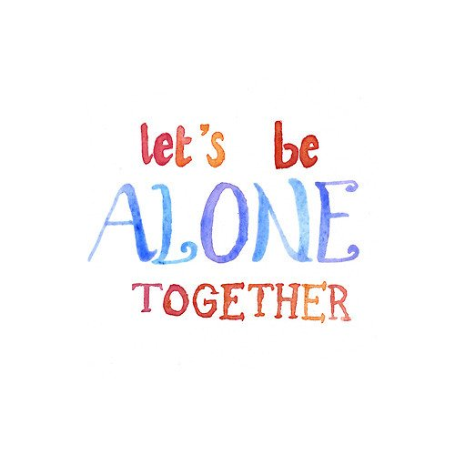 Save Rock And Roll / Alone Together (2013)