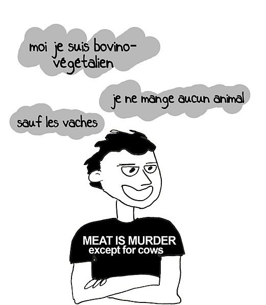 """Les """"végétariens qui mangent du poisson"""" et les autres... par insolente Veggie"""