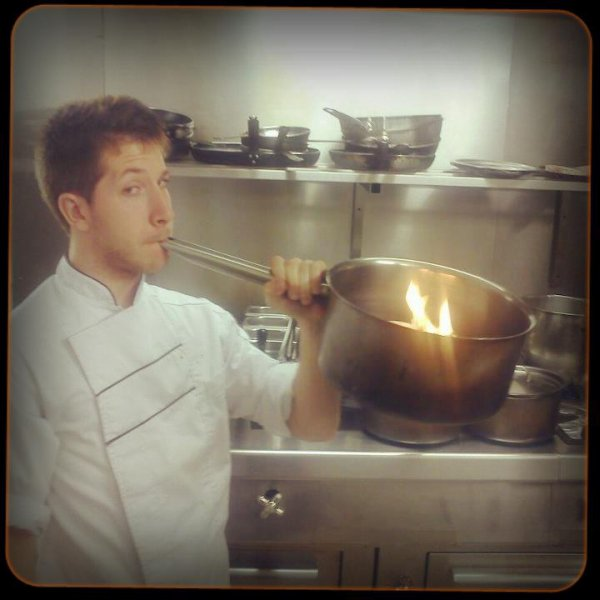 on devient fou avec la chaleur en cuisine --' lol