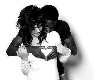 l amour en noir et blanc c beau