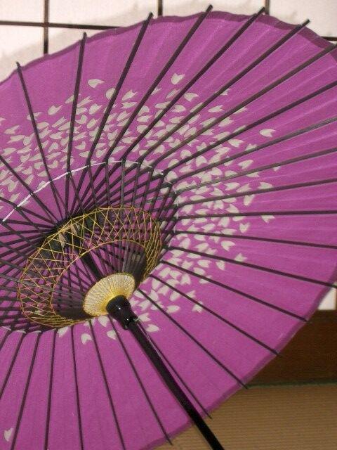 A l'ombre d'une ombrelle...