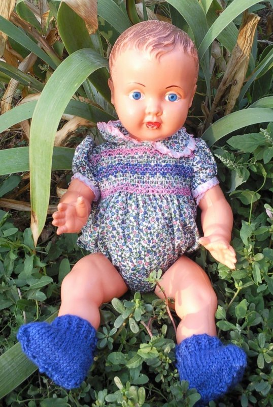 Poupon, tricot et crochet.