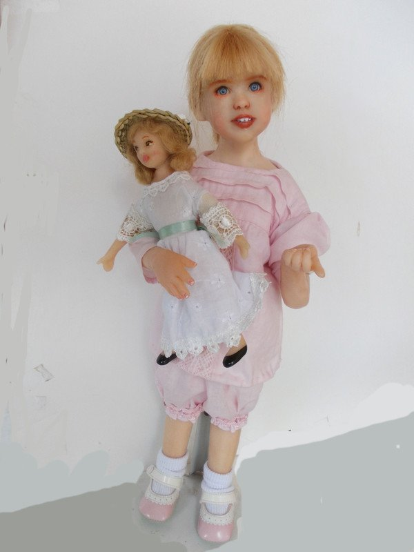 Les poupées de Sylvie Font, de merveilleuses créations!