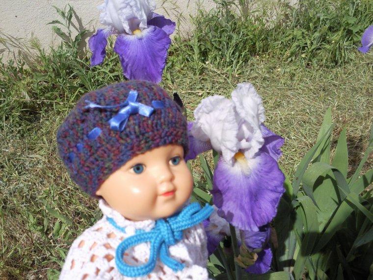Du crochet et des iris