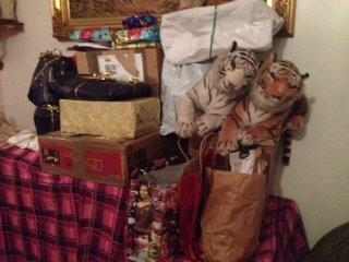 Le père Noel est passé. un petit apperçu...