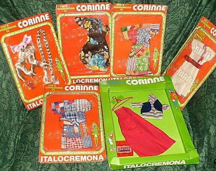 Des Corinne d'Italo-Cremona, en boite;  documentation trouvée sur le net en faisant des recherches...