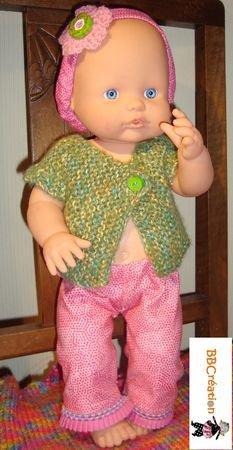 Lien vers un tuto pour réaliser un pantalon de poupée.