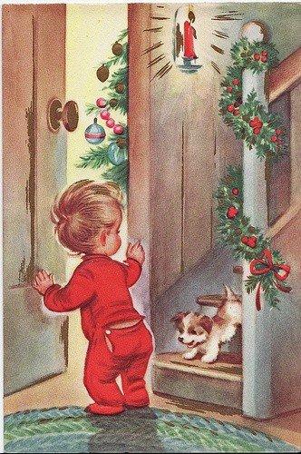 Calendrier de l'avent en attendant le père Noel avec Tilda  jour 3.