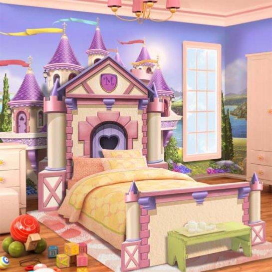 Lits et chambres de r ve pour les enfants les poup es for Chambre de reve pour fille