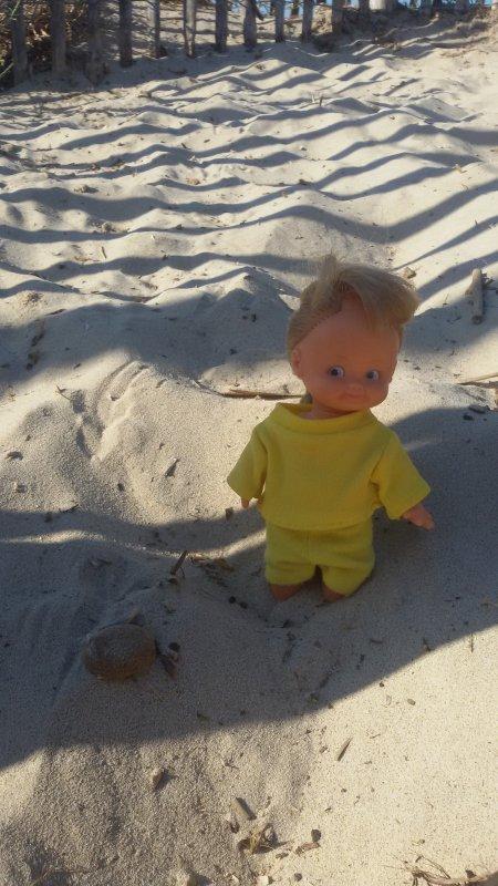 Nous revenons de la plage