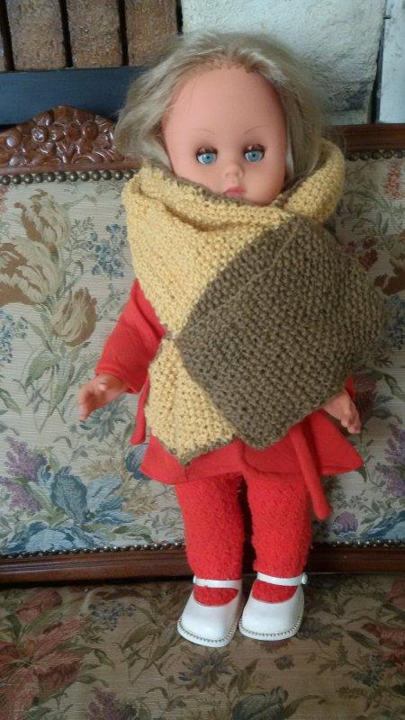 En attendant le père Noel 5 décembre en mode GéGé et tricot.