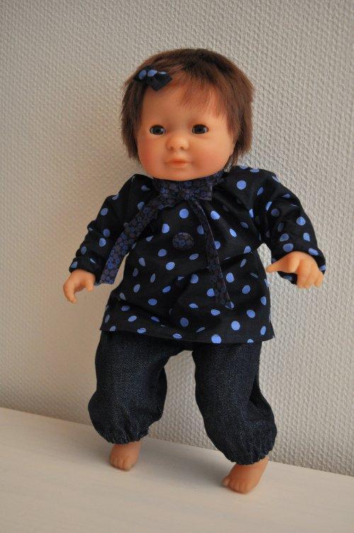Couds une blouse pour ta poupée.