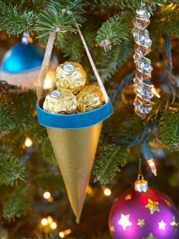 En attendant le père Noel, en mode nature et chocolat.